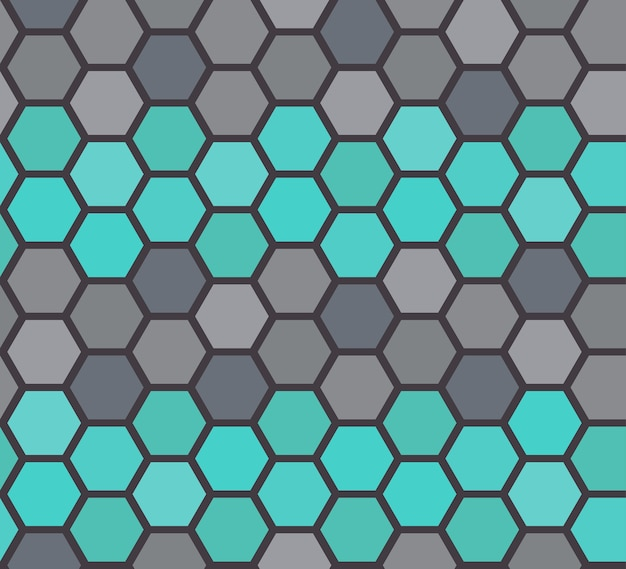 ベクトルの石床のシームレスなパターン Premiumベクター