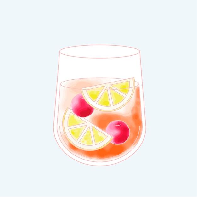 Вектор напитка Бесплатные векторы