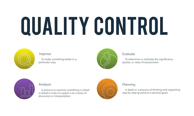 品質管理の図 無料ベクター