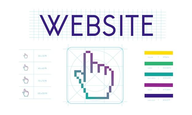 ウェブデザインのイラスト 無料ベクター