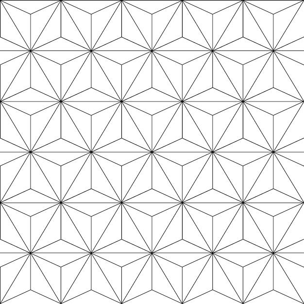 узоры черно белые картинки геометрические