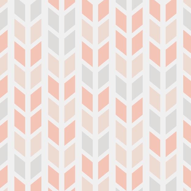 モダンなシームレスなパターンのベクトル図 無料ベクター