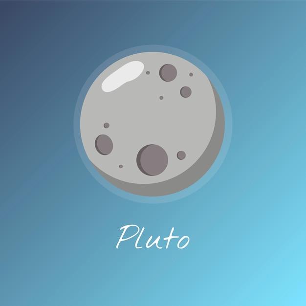 冥王星 無料ベクター