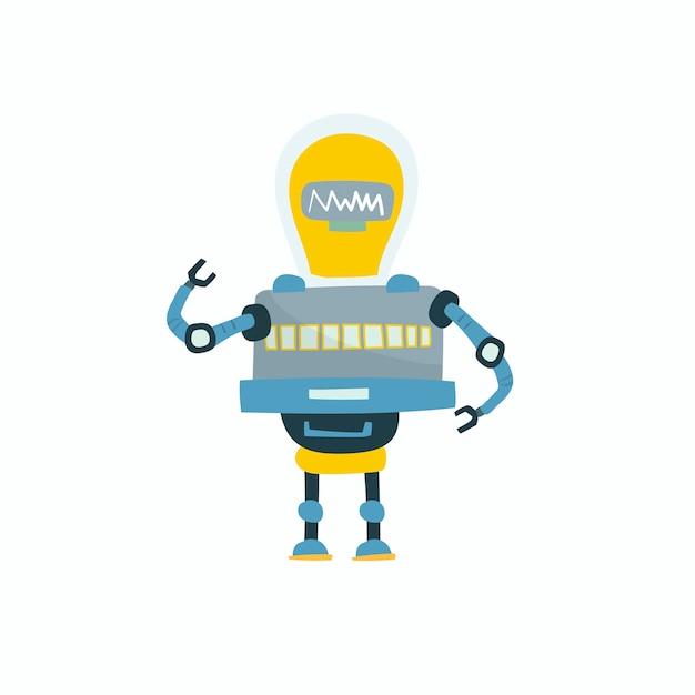 ロボットベクトルグラフィックのイラスト 無料ベクター