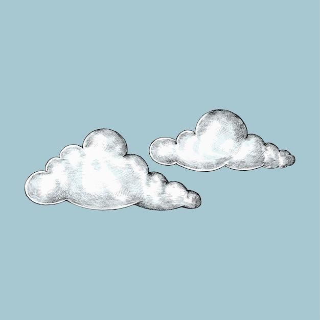 прикольные облака рисунок или куб это