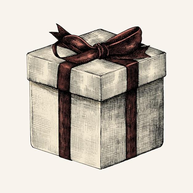 Картинки подарка карандашом
