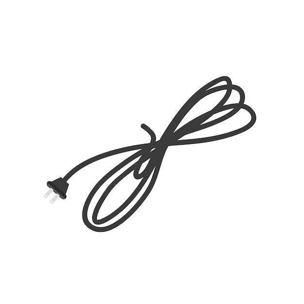 電線のイラスト 無料ベクター