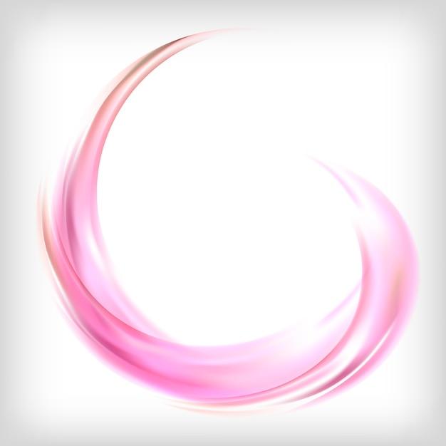 ピンクの抽象的なデザイン要素 無料ベクター