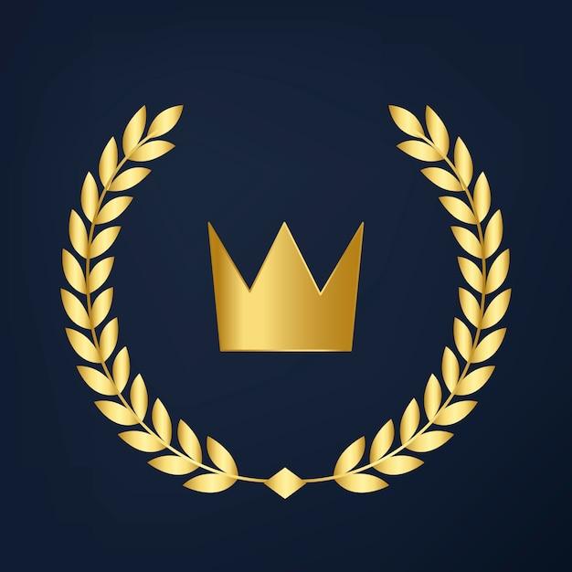 プレミアム品質の王冠アイコンベクトル 無料ベクター