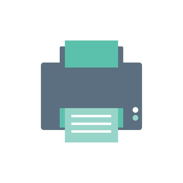 Иллюстрация принтера Бесплатные векторы
