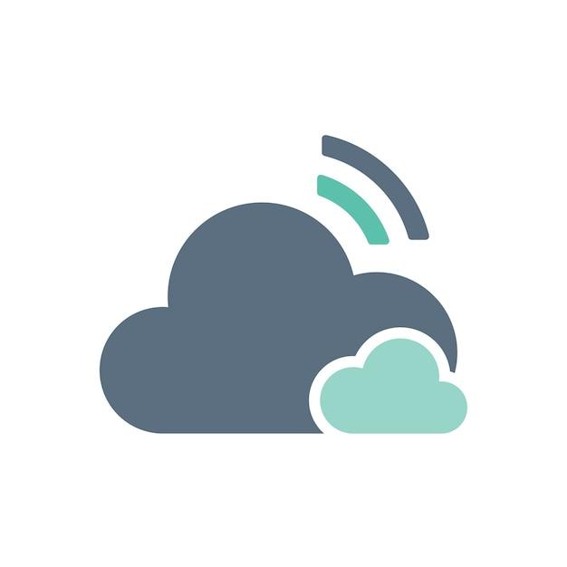 雲の記憶のイラスト 無料ベクター