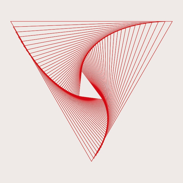 抽象的な動的パターンの壁紙ベクトル 無料ベクター