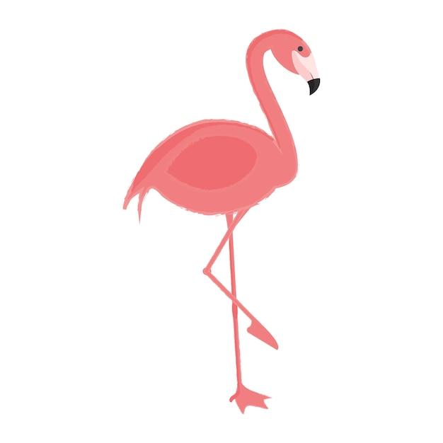 野生動物のイラストの描画スタイルのセット 無料ベクター