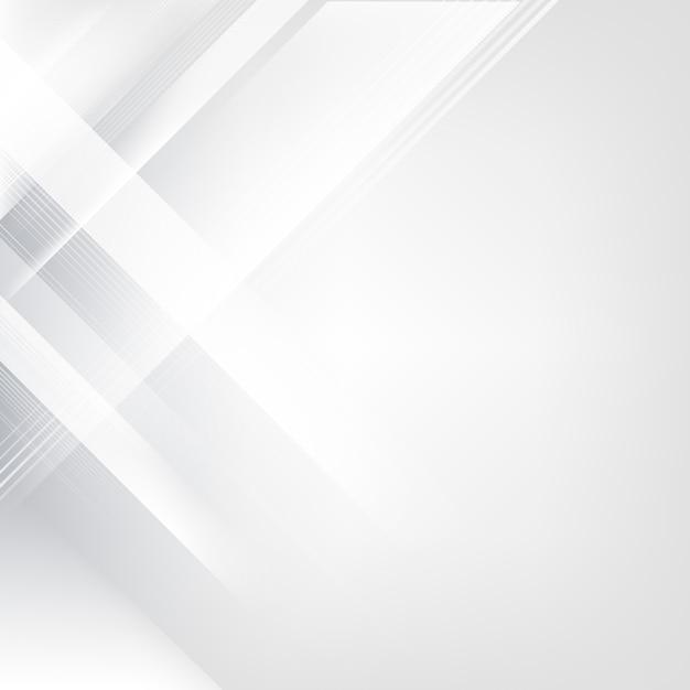 グレーと白のグラデーションの抽象的な背景 無料ベクター