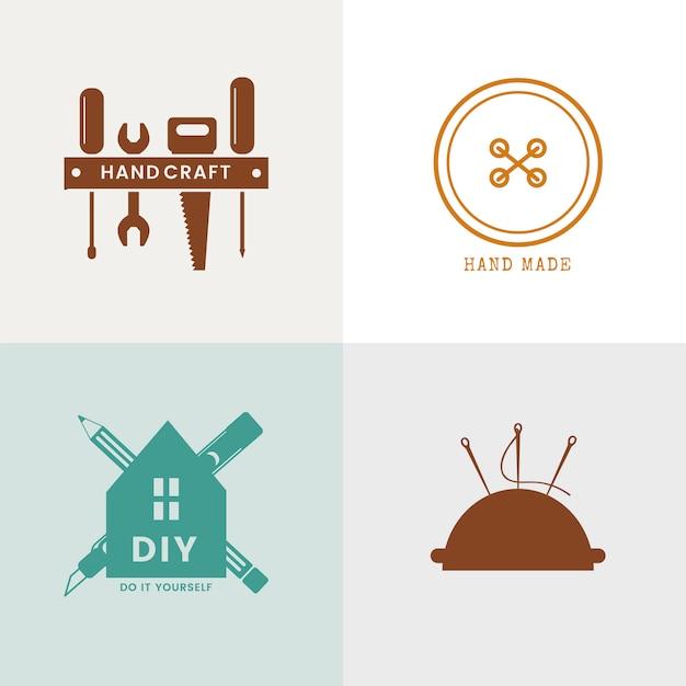 Дизайн логотипа квалифицированного сервисного бизнеса Бесплатные векторы