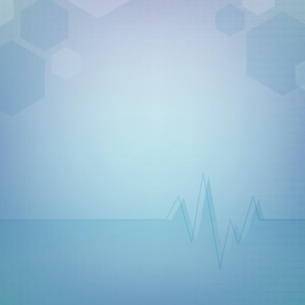 抽象的な医療の壁紙のテンプレートデザイン 無料ベクター