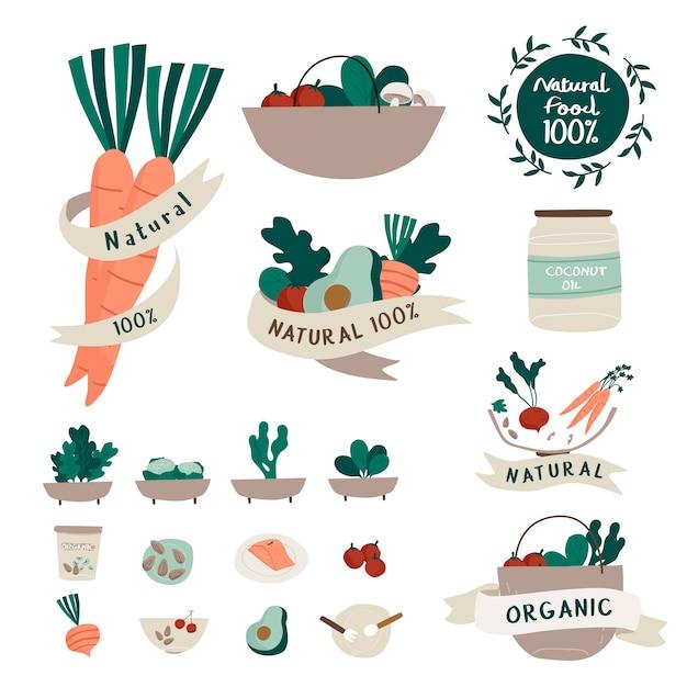 натуральные продукты картинки логотипы кабачков резаных