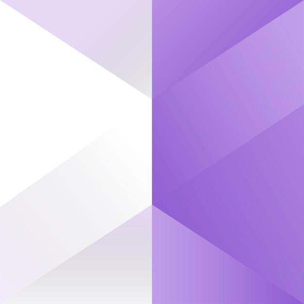 紫の幾何学的背景デザインベクトル 無料ベクター