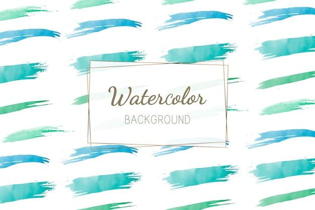 パステル緑色の水彩画の背景ベクトル 無料ベクター