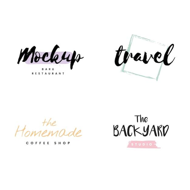 Коллекция логотипов и брендинга Бесплатные векторы