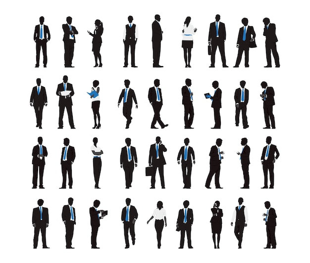 ビジネスマンのイラスト ベクター画像 無料ダウンロード
