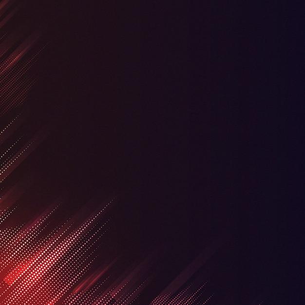 赤と黒のパターン化された背景ベクトル 無料ベクター