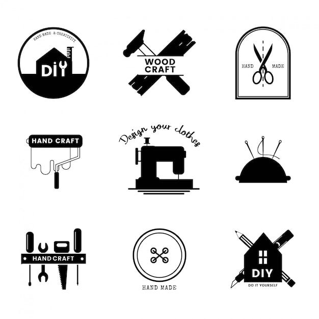 熟練したサービスビジネスのロゴデザイン 無料ベクター