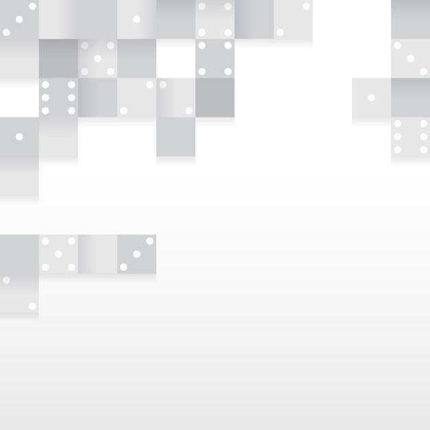 空白の背景ベクトルのグレーブロック 無料ベクター