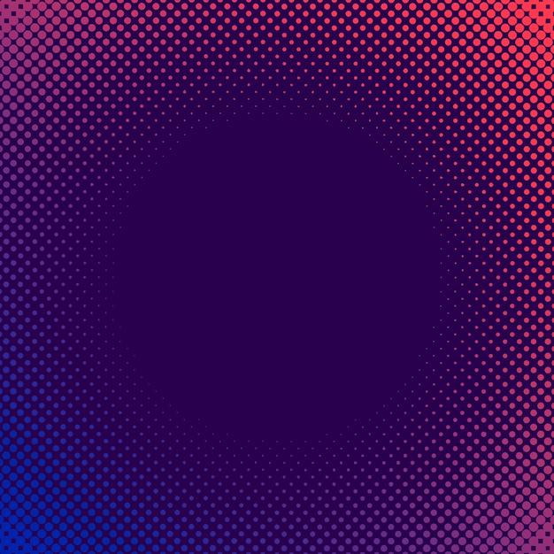 Фиолетовый и розовый полутоновый фон вектор Бесплатные векторы