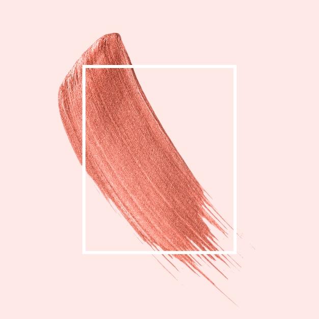 ピンクのブラシストローク 無料ベクター