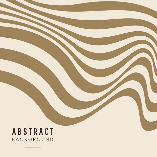 ベージュの抽象的な背景デザインのベクトル 無料ベクター