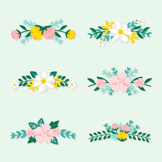 春の花イラスト集 ベクター画像 無料ダウンロード