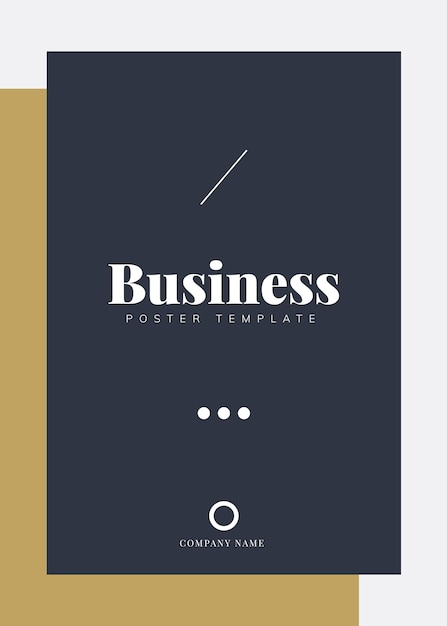 Корпоративный шаблон брошюры и плаката Бесплатные векторы