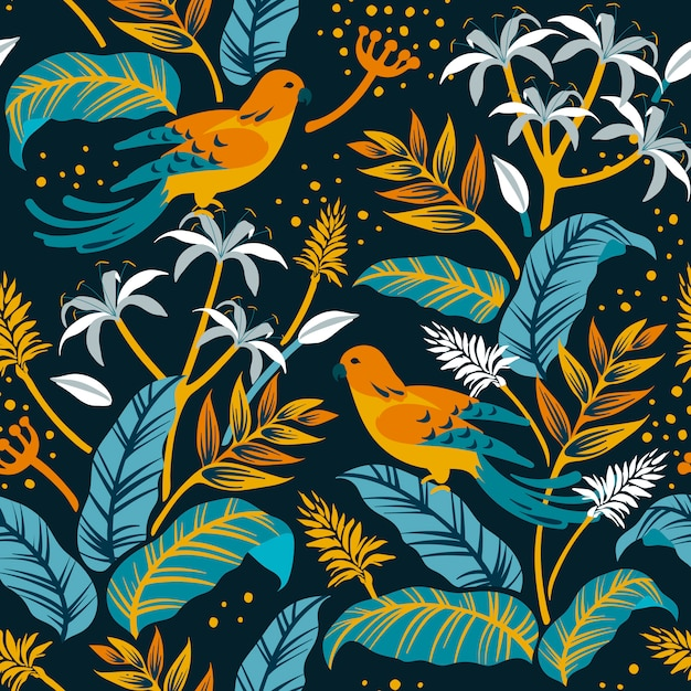 自然デザインの鳥 無料ベクター