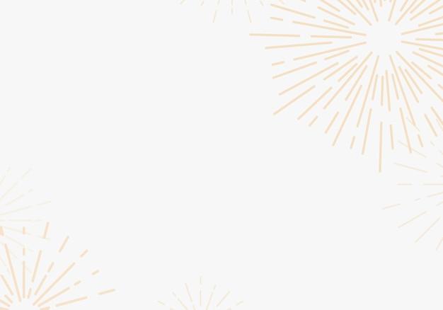 白いベクトルでサンバースト背景デザイン 無料ベクター