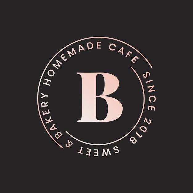 カフェのロゴ 無料ベクター