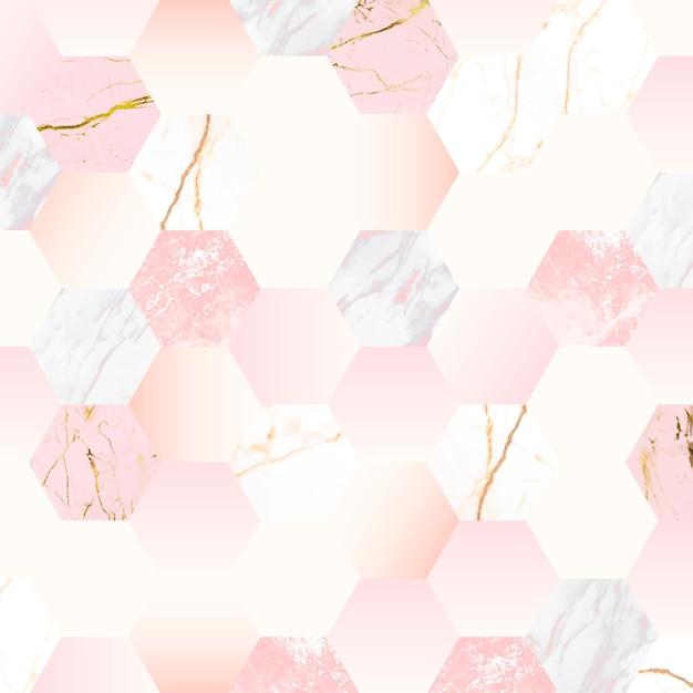 Девичий розовый фон Бесплатные векторы