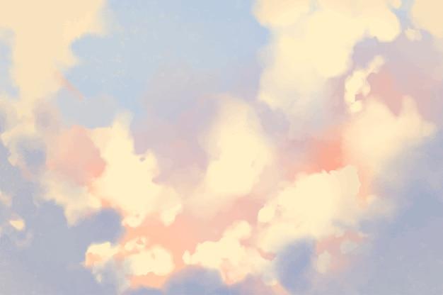 抽象的なスプラッシュ水彩の質感のある背景 無料ベクター