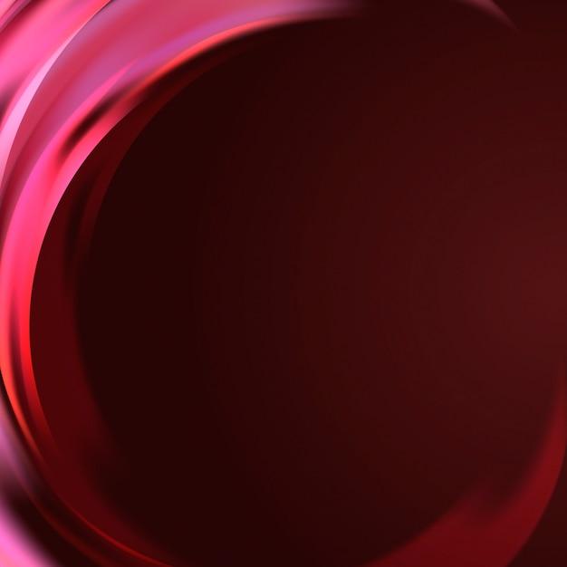 ピンクの光波ボーダーバックグラウンド 無料ベクター