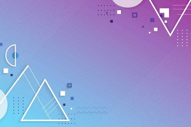Креативное геометрическое пространство дизайна Бесплатные векторы