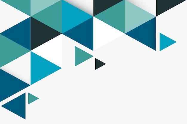 Геометрический абстрактный фон Бесплатные векторы