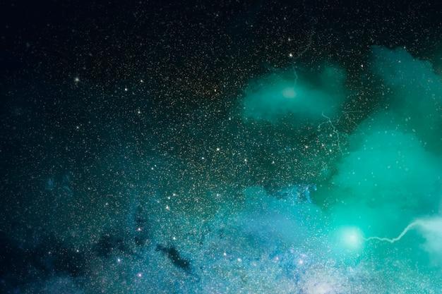 Космическая галактика фон Бесплатные векторы