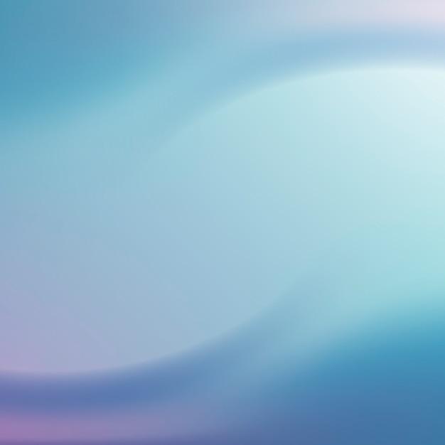 クールな波状の抽象的なグラデーション 無料ベクター