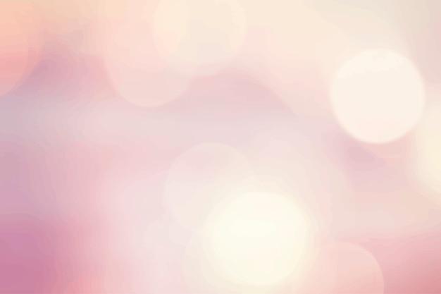 ピンクのボケの背景 無料ベクター