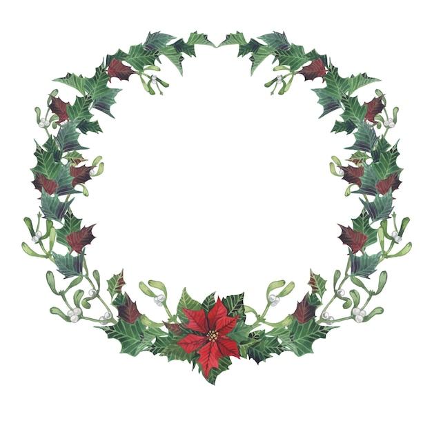 クリスマスと新年のコレクション Premiumベクター