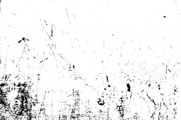黒と白のイラストグランジテクスチャベクトル。オーバーレイグランジ効果の概念。 Premiumベクター