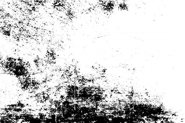 黒と白のグランジテクスチャ Premiumベクター