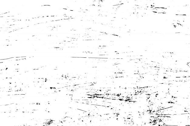 黒と白のグランジテクスチャ背景をベクトルします。 Premiumベクター