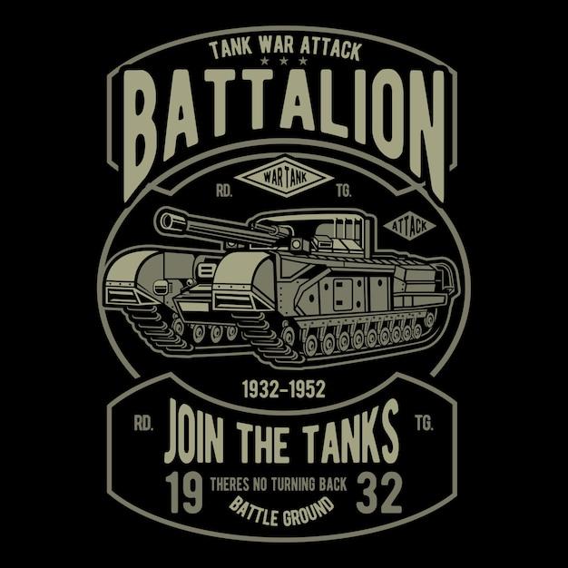 Танковый батальон Premium векторы