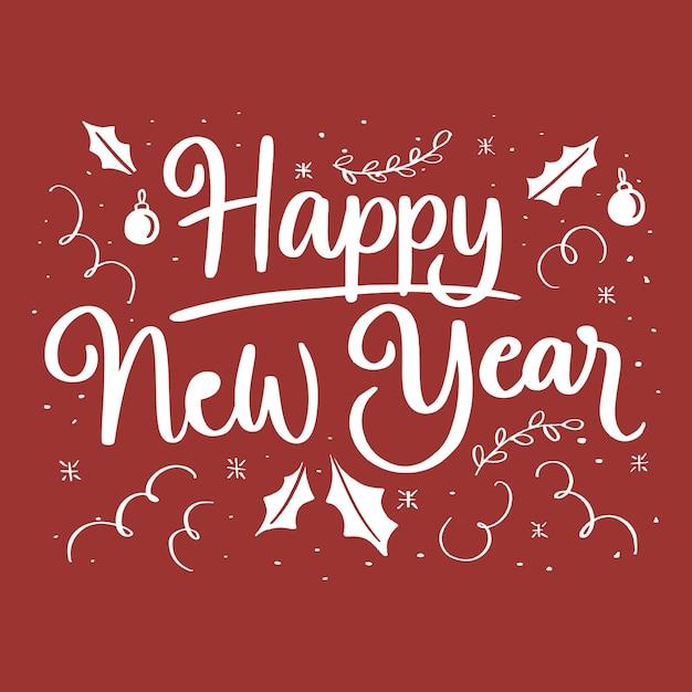 Новый год по-английски картинки, открытки своими